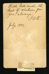 Reverse of Pauline Van de Graaf Orr