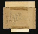 Reverse of Miss Mary J.S. Callaway and Noxubee County Girls