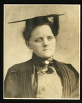 Blanche Colton Williams in academic regalia