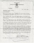 Letter from Theodore Bilbo to Sam H. Smith; December 11, 1929.
