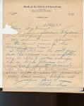 Letter from Sam H. Smith; March 31, 1931.