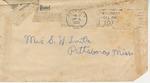 Letter from Sam E. Smith to Pauline Smith; November 2, 1935
