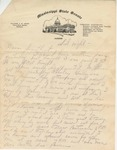 Letter from Sam H. Smith to Pauline Smith; 1935
