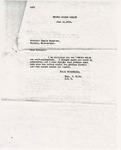 Letter from Theodore G. Bilbo to Dennis Murphree; June 10, 1936