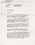 Letter from Dennis Murphree to John L. Taylor; August 11, 1936
