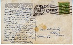 Postcard from Sam Smith to Pauline Smith; November 14, 1936