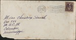 Envelope from Wade Horn to Christine Smith; February 17, 1937