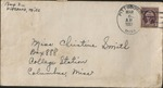Letter from Pauline Smith to Christine Smith; March 6, 1937