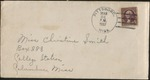Letter from Pauline Smith to Christine Smith; March 24, 1937