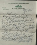 Letter from Sam Smith to Christine Smith; July 17, 1938