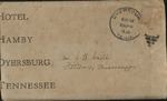 Letter from Christine Smith to Pauline Smith; August 12, 1938