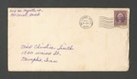 Letter from Martha Smith to Christine Smith; September 15, 1938